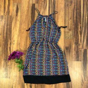 Beautiful geo design dress